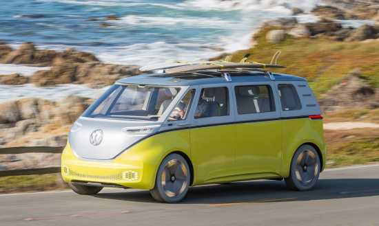 Volkswagen to put MEB-based electric I.D. BUZZ microbus concept into production; Cargo variant too