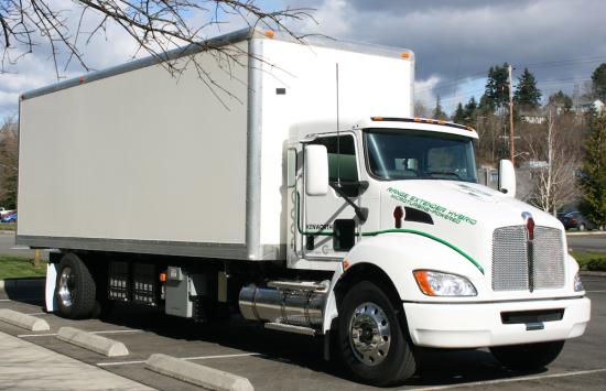 Microturbine Powered Class 7 Hybrid Work Truck