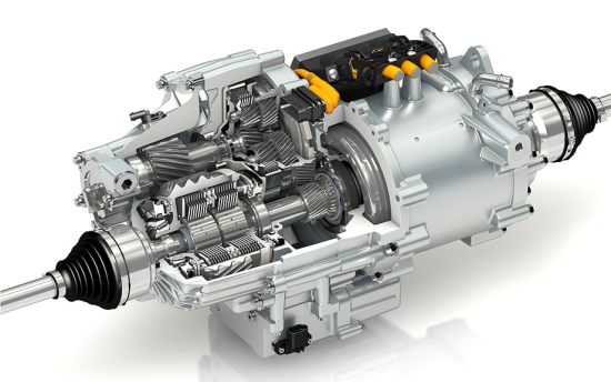photo image GKN Driveline introducing new advanced electric driveline concept with torque vectoring at Frankfurt: eTwinsterX