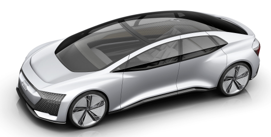 photo image Audi's Aicon autonomous concept: Level 5 with 700-800 km electric range