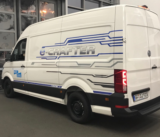 Volkswagen Commercial Vehicles delivers first e-Crafters for testing