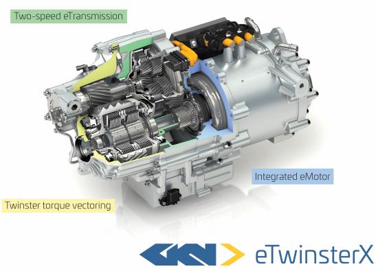 GKN Driveline eTwinsterX labelled