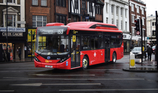 BYD, Alexander Dennis electric buses take over fourth London