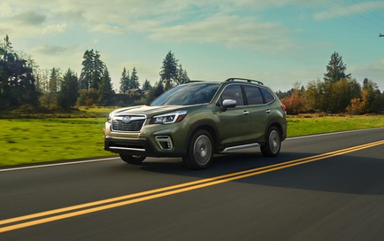 2019 Subaru Forester Features Updated 2 5l Boxer Engine With Stop