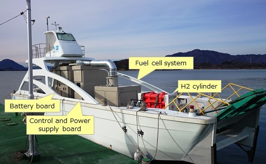 Test-boat-fuel-cell-system