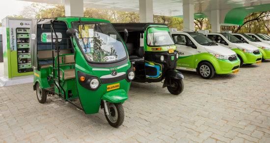 photo image Indian ride-sharing company Ola to put 10,000 EVs on the road in 12 months, 1M by 2021
