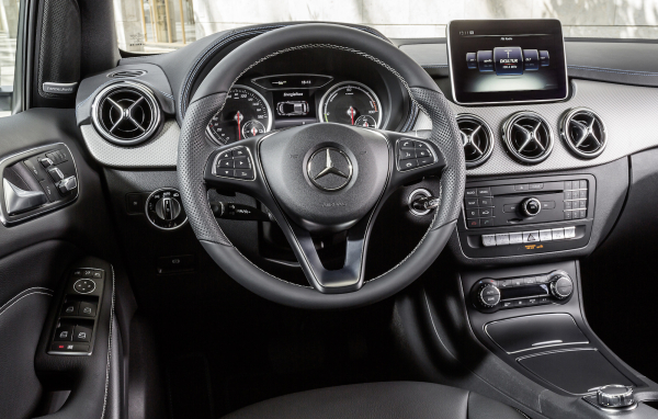 More on the Mercedes-Benz 2014 B-Class alternative drive systems