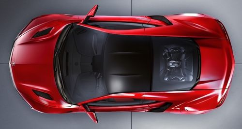 Acura Unveils New Nsx High Performance Hybrid Sports Car Green Car