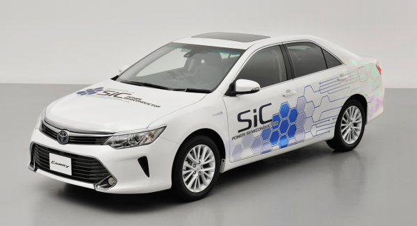 Toyota beginning on-road testing of new SiC power semiconductor