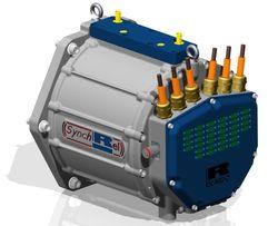 Ricardo RapidSR electric motor_CAD model