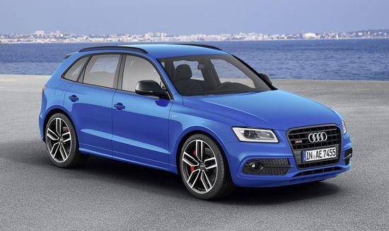 Audi introduces new top end diesel SQ5 TDI plus; 340 hp, 35.6 mpg