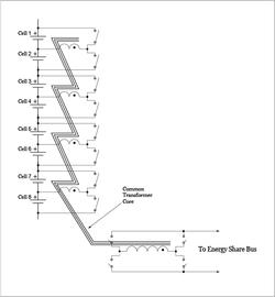 Sendyne Active Cell Balancing Topology Enlarged