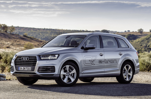 Audi highlights its range of electrification efforts