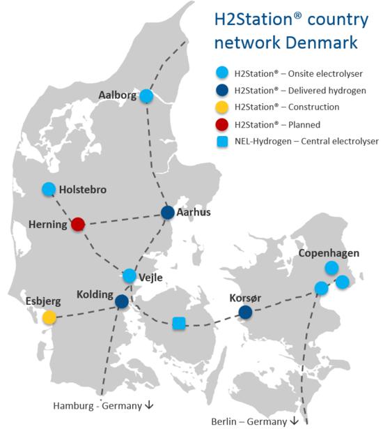 H2 Logic delivers 9th H2 fueling station for Denmark 100 renewable