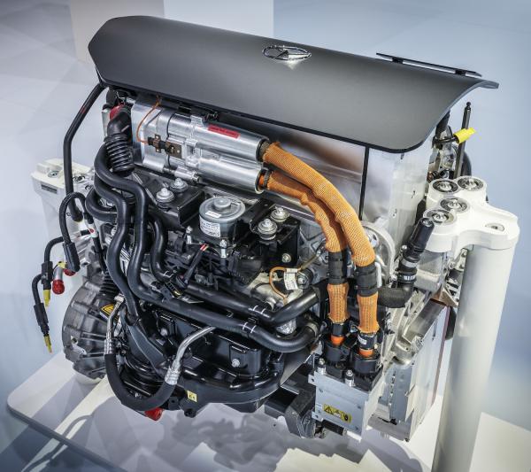 Mercedes-Benz' GLC F-CELL Fuel-cell Plug-in Hybrid SUV