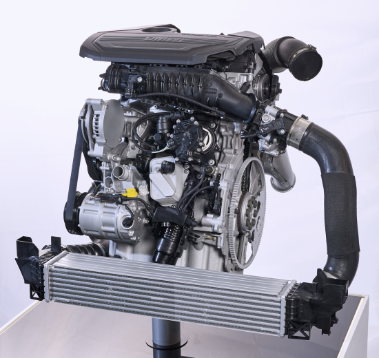 Bmw Twin Turbo 3 Cylinder Gasoline Engine Click To Enlarge
