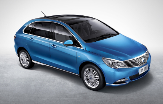 Daimler-BYD JV introduces new DENZA 400 EV for China; up to 400 km on full charge