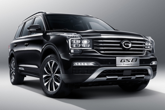 Green Car Congress Gac Motor Introduces Its First Seat Suv The