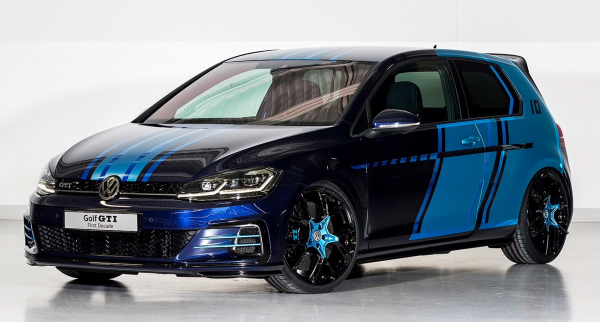 volkswagen apprentices unveil 48v hybrid golf gti. Black Bedroom Furniture Sets. Home Design Ideas