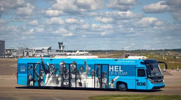 Helsinki Airport buses to use Neste MY Renewable Diesel - Green Car Congress