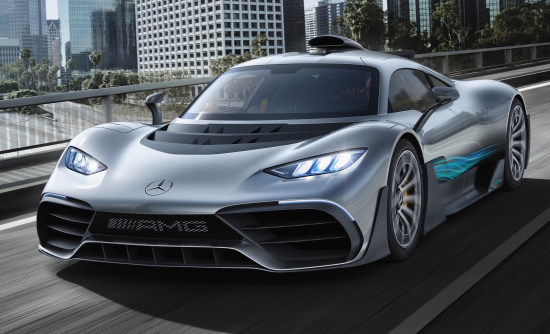 photo image Mercedes-AMG Project One PHEV with F1 technology debuts at IAA; 750 kW, 800V