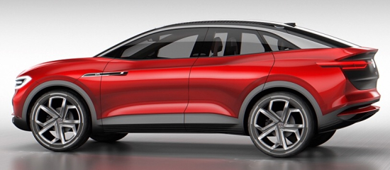 photo image Volkswagen presents new I.D. CROZZ II battery-electric SUV concept; on sale in 2020