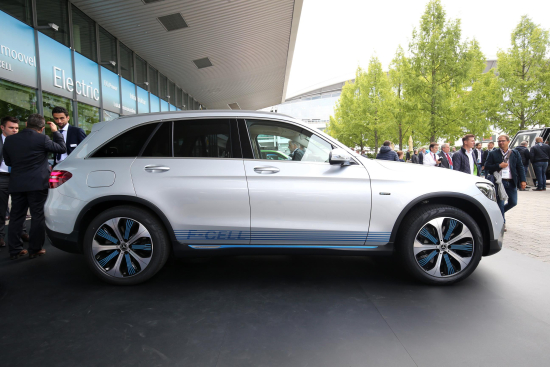 photo image Mercedes-Benz GLC F-CELL goes into preproduction; fuel-cell/battery plug-in hybrid powertrain