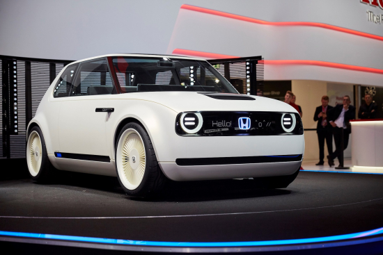 photo image Honda unveils Urban EV Concept, production version in 2019; electrified technology for every new model launched in…