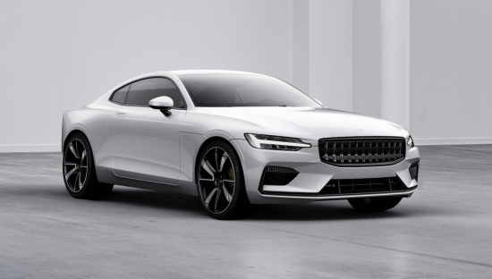 Polestar S First Production Car The 1 Is A 600hp Two Door Four Seater Hybrid Coupé It Has Pure Electric Range Of 150km 93 Miles