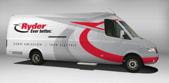 d2865a2773 Ryder begins taking delivery of 125 Chanje electric vans - Green Car ...