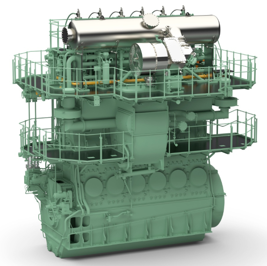 photo image Winterthur dual-fuel X-DF engines to power CMA CGM's giant container ships