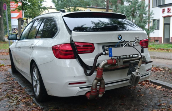 photo image DUH says testing indicates use of defeat device in BMW 320d diesel