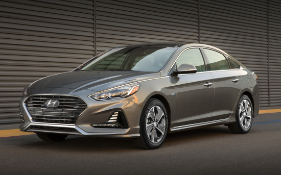 Hyundai introduces 2018 Sonata Hybrid and Plug-in Hybrid models at