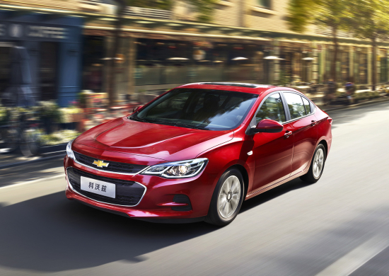 Chevrolet Introduced The Cavalier Nameplate In China Market September 2016 Over Past 18 Months Nearly 240 000 Cavaliers Have Been Delivered