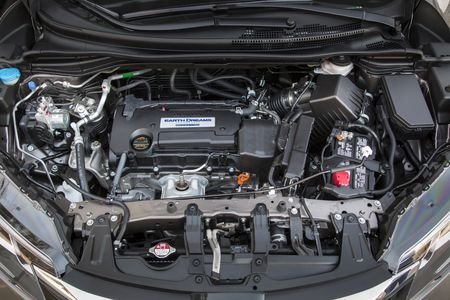 Major Refresh On 2015 Honda Cr V With New Earth Dreams Powertrain Provides Fuel Economy Gain Of