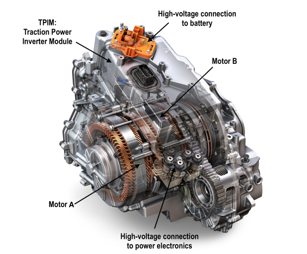 Honda Inverter Generator >> GM provides technical details of the Gen 2 Voltec propulsion system used in the 2016 Volt ...