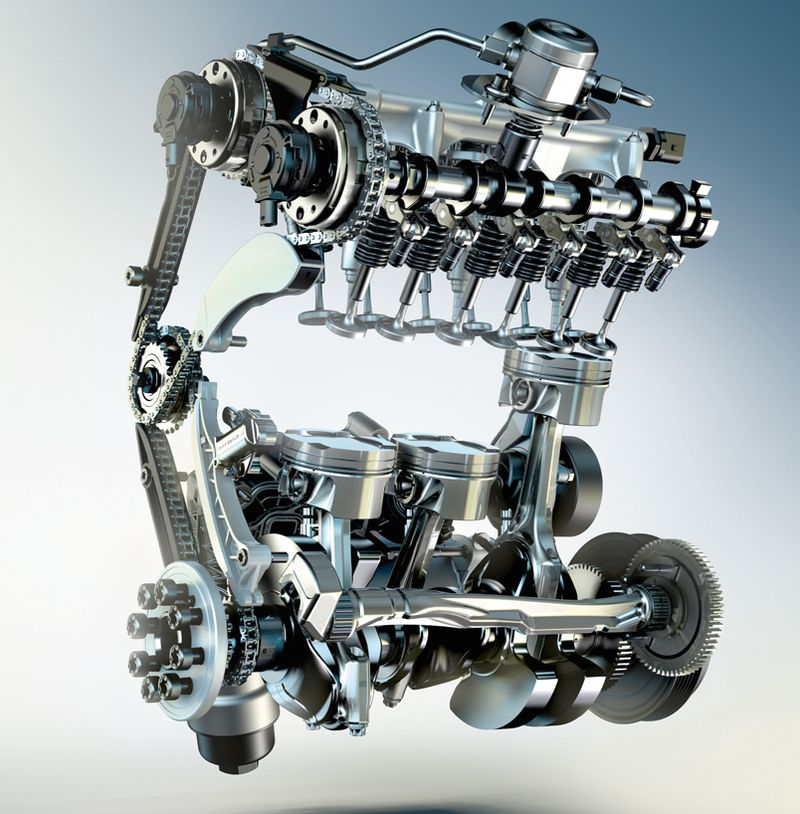 New BMW 3-cylinder turbo petrol engine for the 218i