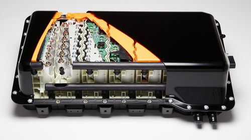 Cutaway Of The Li Ion Battery Pack For Range Rover Click To Enlarge