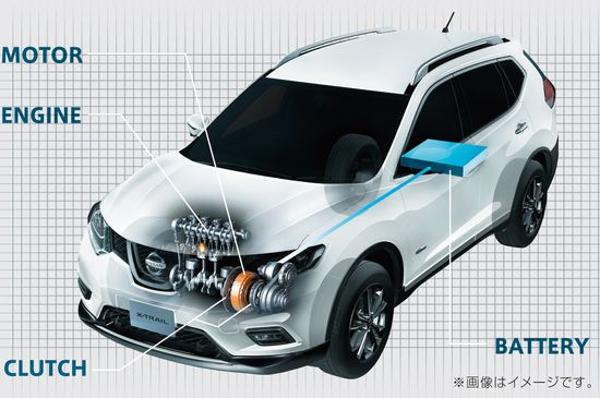 Nissan Launches New X Trail Hybrid In Japan Green Car Congress