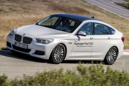 BMW shows future drive technoliges; 2 Series PHEV prototype, direct water injection in 3-cyl. engine, and fuel cell eDrive