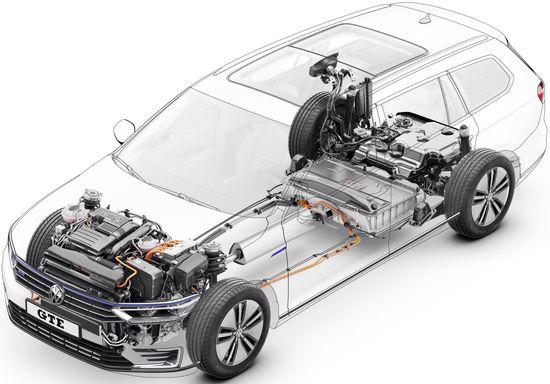 Volkswagen Launches New Passat Gte Plug In Hybrid In Europe Green