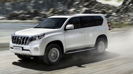 Toyota Land Cruiser in Europe offers new 2 8L diesel