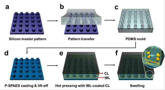 KAIST researchers develop mechanical nanoscale fasteners for