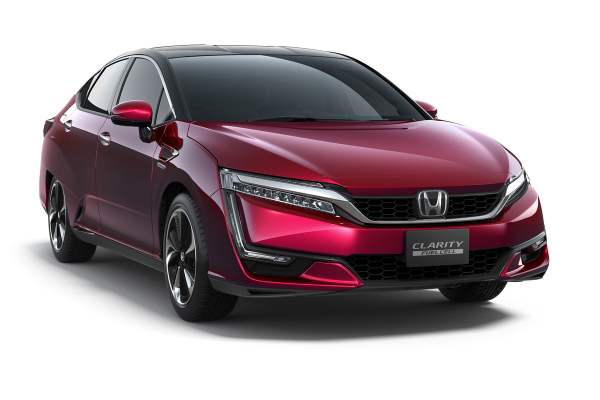 Honda Clarity Fuel Cell sedan makes N. American debut at LA Auto Show; available in California late 2016; PHEV in 2018