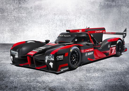 New Audi R18 makes its debut; fundamental redesign of diesel hybrid racer with Li-ion battery storage