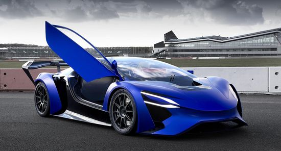 Techrules AT96 TREV supercar concept  - on track 3