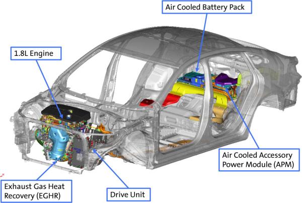 Gm Details 2016 Chevrolet Malibu Hybrid Powertrain Design