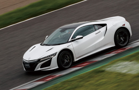 Honda Begins Taking Orders For Nsx Hybrid Supercar In An Starting At Us 236 000 Green Car Congress