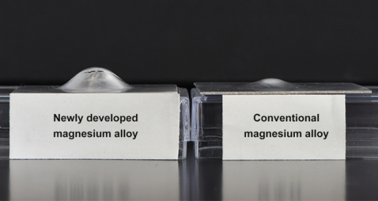 New low-cost, lightweight magnesium sheet alloy with good formability for automotive applications; 1.5x stronger than aluminum