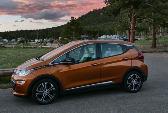 2017 Chevrolet Bolt Ev Now Available Across Us Green Car Congress